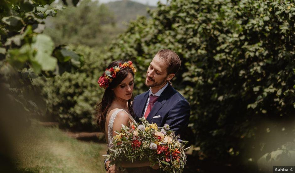 La boda de Miguel y Marina en Estanyol, Girona