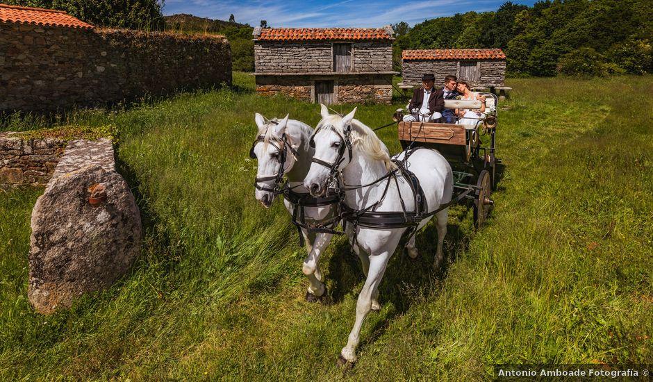 La boda de Mario y Jessica en Vimianzo, A Coruña