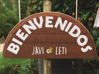 La boda de Letizia y Javier 1