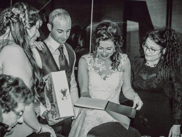 La boda de Diego  y Flori  en Santa Coloma De Farners, Girona 20