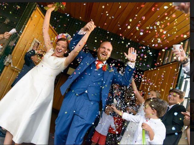 La boda de Clara y John