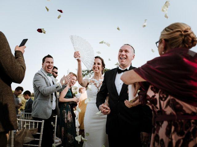 La boda de Carmen y Bartek