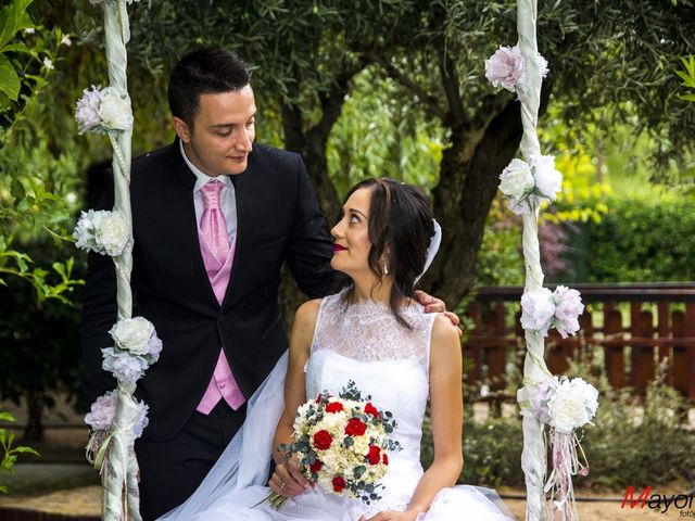 La boda de Cristina y Edu  en Aldea Del Fresno, Madrid 2