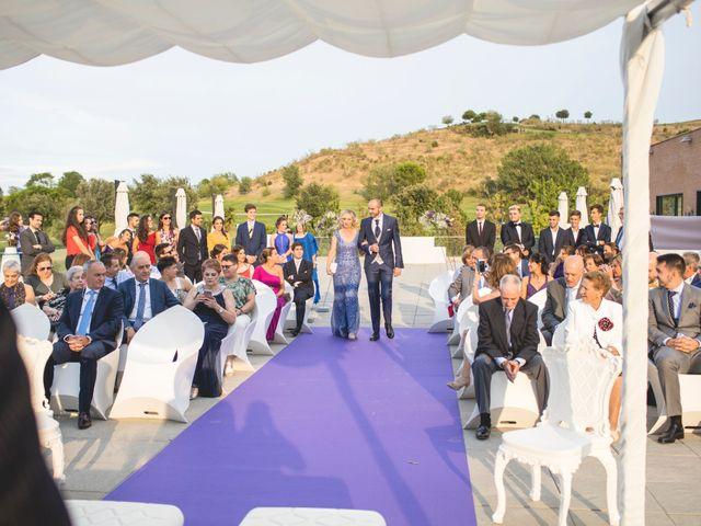 La boda de Alba y Borja en Algete, Madrid 1