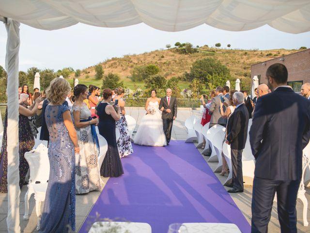 La boda de Alba y Borja en Algete, Madrid 2