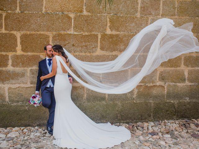 La boda de Mª de los Angeles y Javier