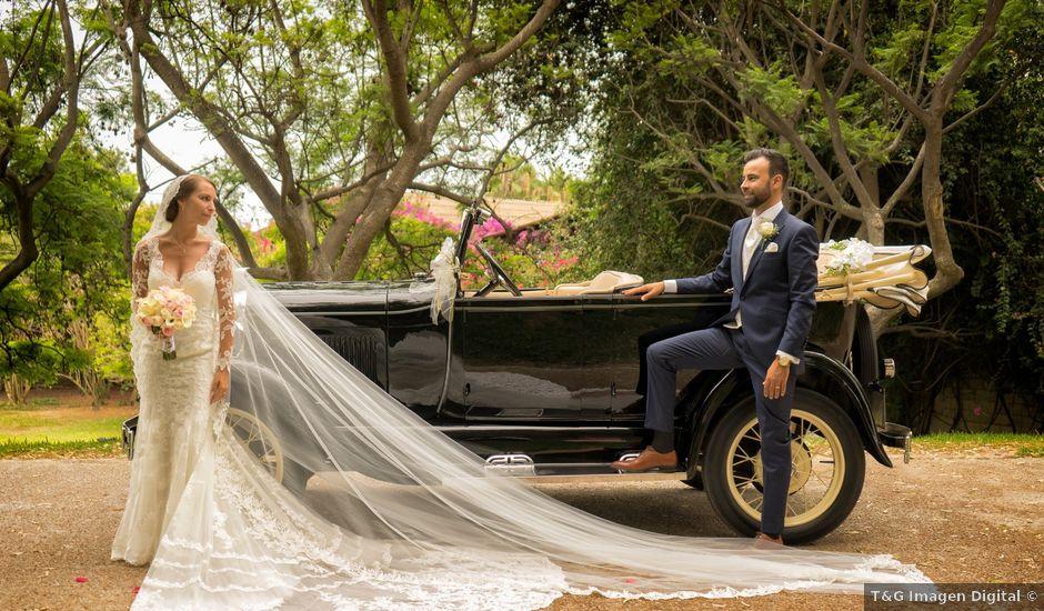 La boda de Rafael y Jessica en Motril, Granada
