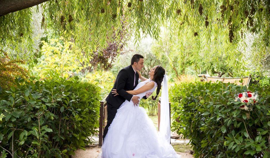 La boda de Cristina y Edu  en Aldea Del Fresno, Madrid