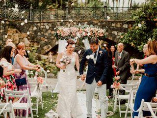 La boda de Kersty y David