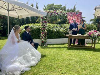 La boda de Andrea y Javier 1