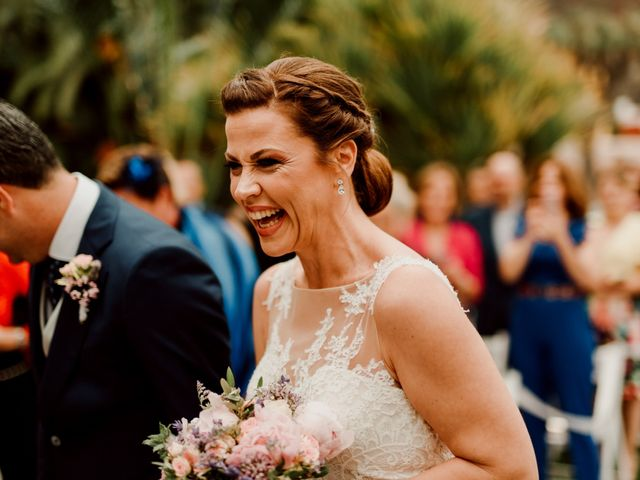 La boda de David y Kersty en Puerto De La Cruz, Santa Cruz de Tenerife 30