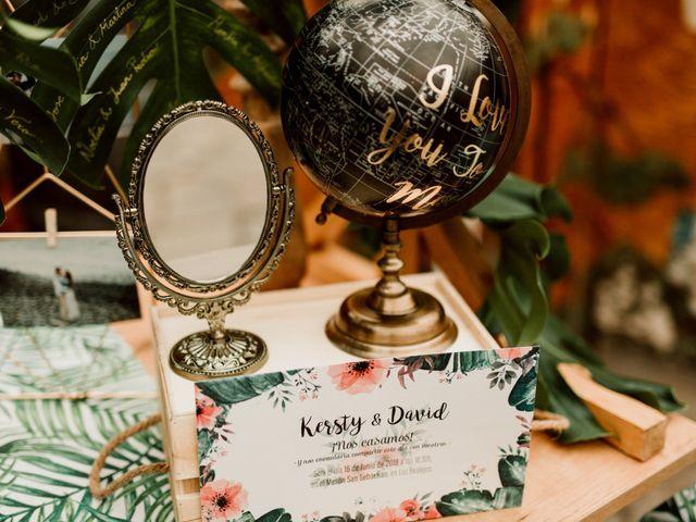 La boda de David y Kersty en Puerto De La Cruz, Santa Cruz de Tenerife 40
