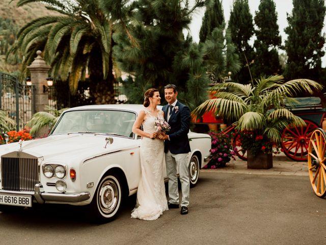 La boda de David y Kersty en Puerto De La Cruz, Santa Cruz de Tenerife 41