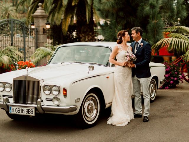 La boda de David y Kersty en Puerto De La Cruz, Santa Cruz de Tenerife 42