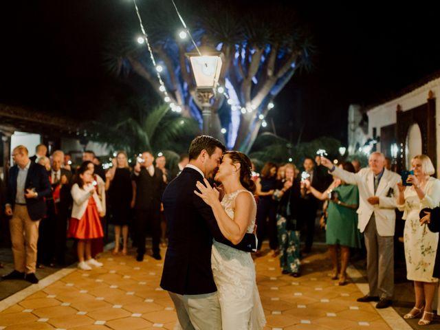 La boda de David y Kersty en Puerto De La Cruz, Santa Cruz de Tenerife 52