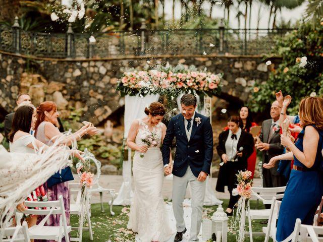 La boda de David y Kersty en Puerto De La Cruz, Santa Cruz de Tenerife 54