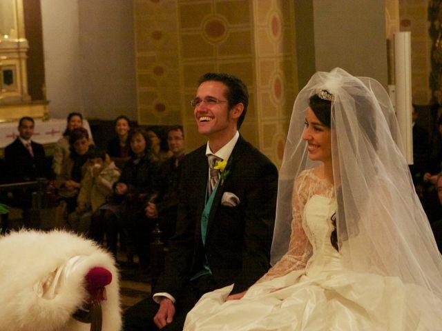 La boda de Juan Gil y Adriana Camin en Zaragoza, Zaragoza 1