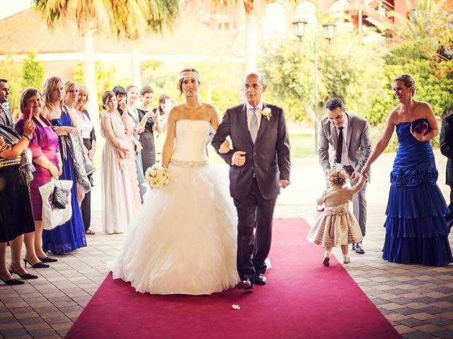 La boda de Rubén y Maite en La Pobla De Farnals, Valencia 37