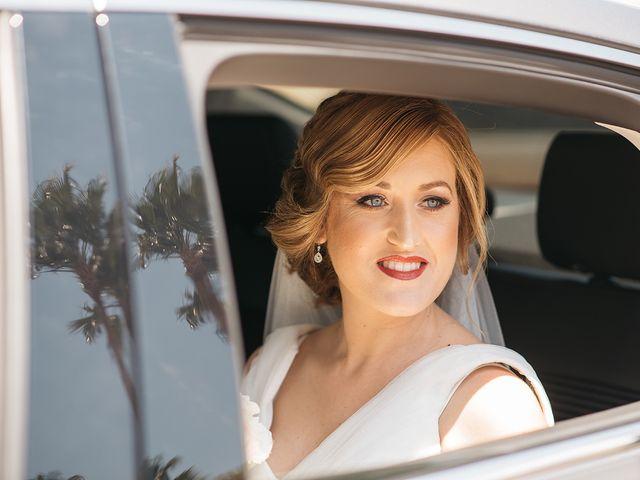 La boda de Abraham y Lorena en Rioja, Almería 22