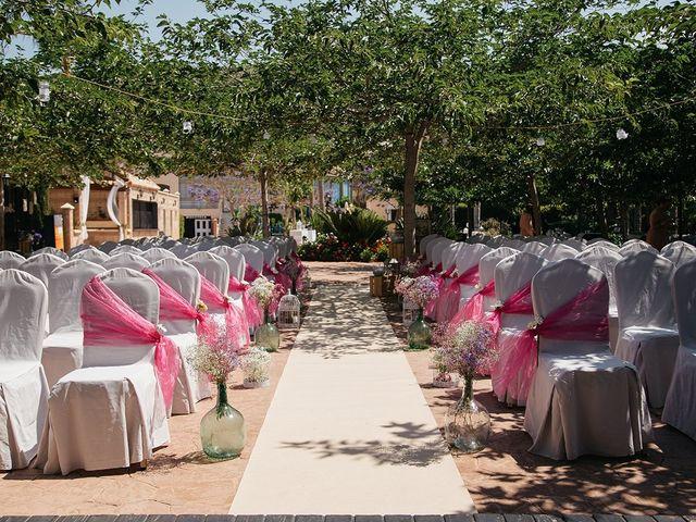 La boda de Abraham y Lorena en Rioja, Almería 28