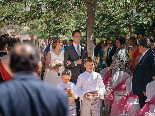 La boda de Abraham y Lorena en Rioja, Almería 29