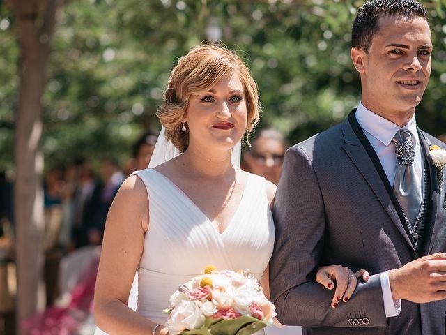 La boda de Abraham y Lorena en Rioja, Almería 30