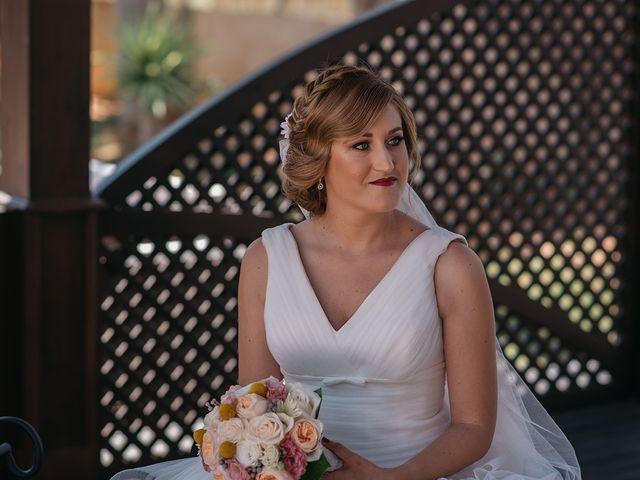 La boda de Abraham y Lorena en Rioja, Almería 33