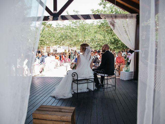 La boda de Abraham y Lorena en Rioja, Almería 34
