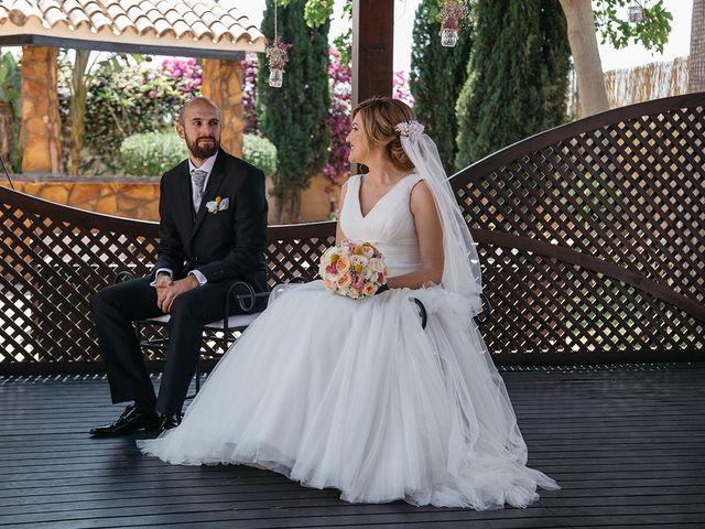 La boda de Abraham y Lorena en Rioja, Almería 35