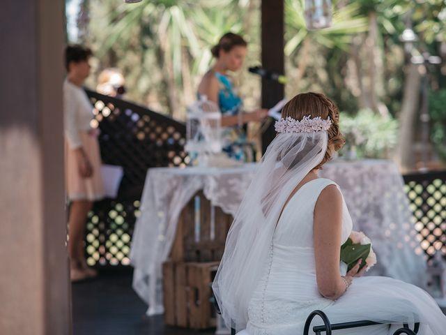 La boda de Abraham y Lorena en Rioja, Almería 36