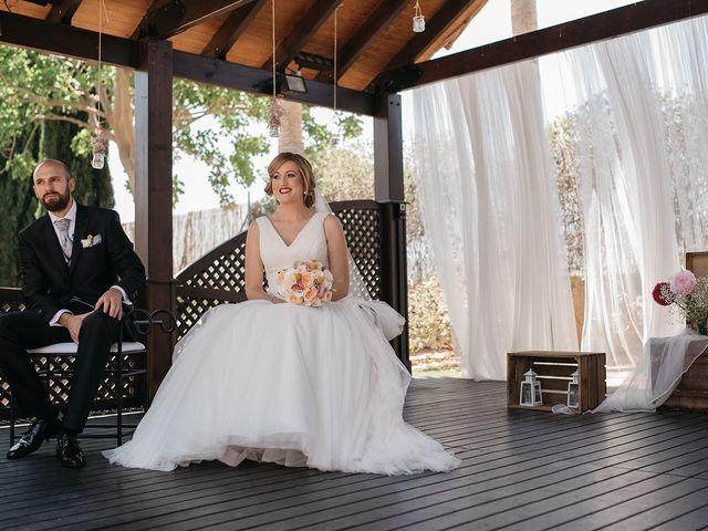 La boda de Abraham y Lorena en Rioja, Almería 37