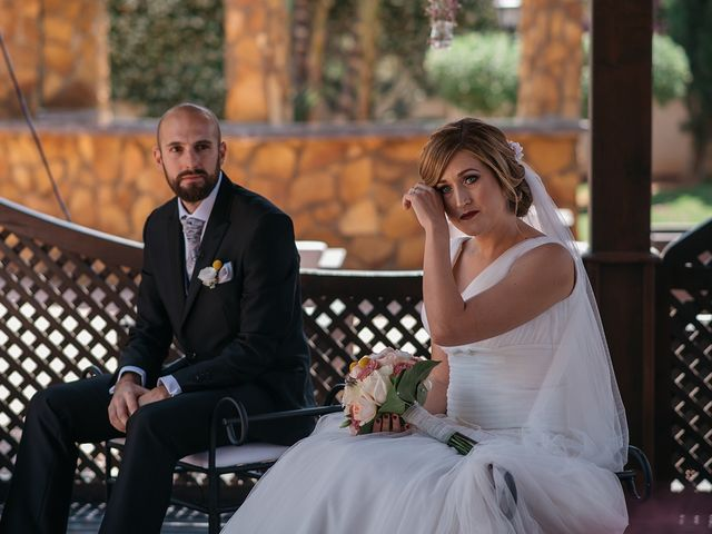 La boda de Abraham y Lorena en Rioja, Almería 39