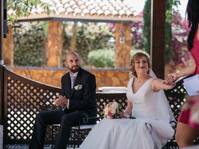 La boda de Abraham y Lorena en Rioja, Almería 40