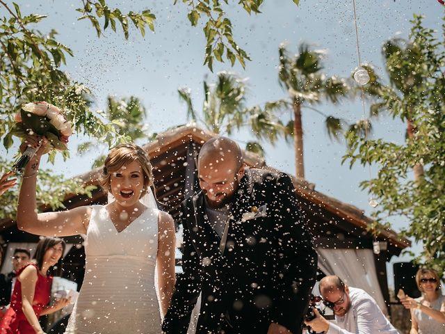 La boda de Abraham y Lorena en Rioja, Almería 44