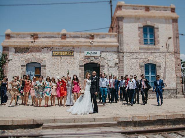 La boda de Abraham y Lorena en Rioja, Almería 45