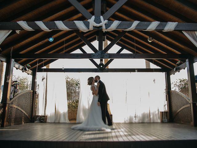 La boda de Abraham y Lorena en Rioja, Almería 50