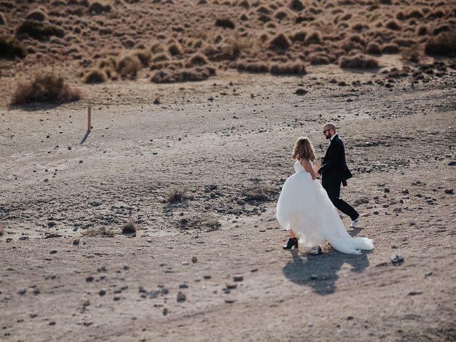 La boda de Abraham y Lorena en Rioja, Almería 54