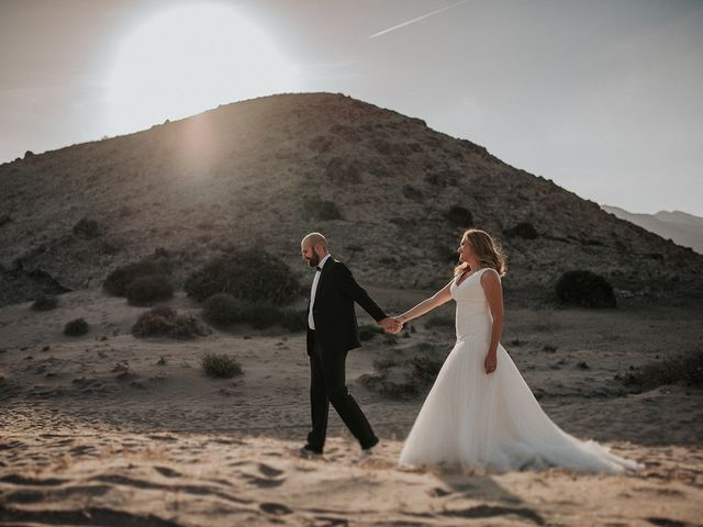 La boda de Abraham y Lorena en Rioja, Almería 55