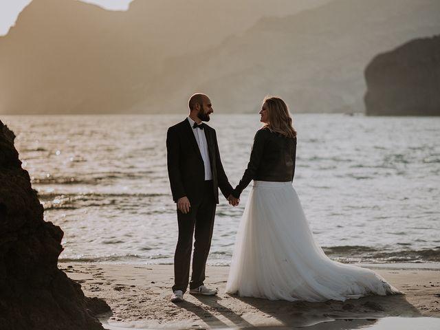 La boda de Abraham y Lorena en Rioja, Almería 62