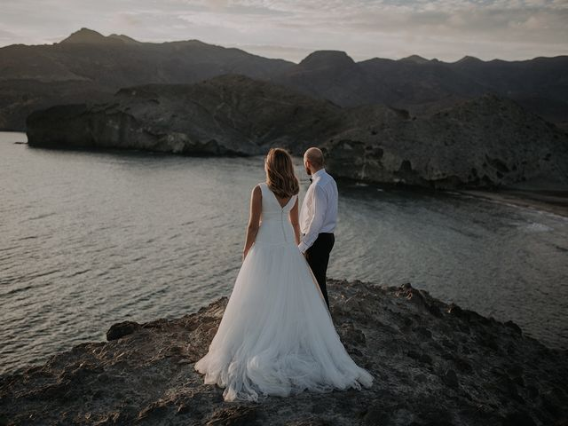 La boda de Abraham y Lorena en Rioja, Almería 66