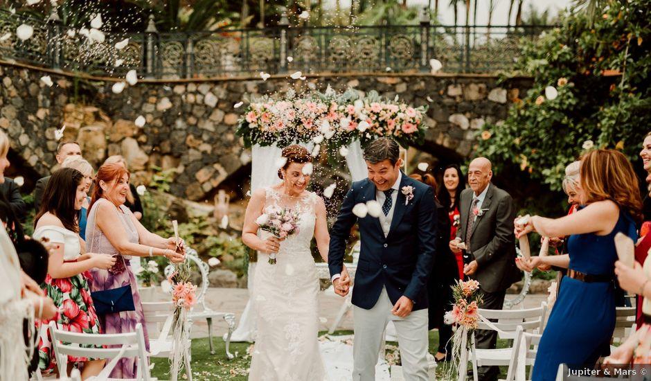 La boda de David y Kersty en Puerto De La Cruz, Santa Cruz de Tenerife