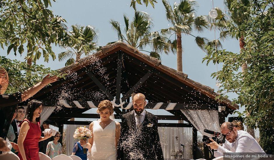 La boda de Abraham y Lorena en Rioja, Almería