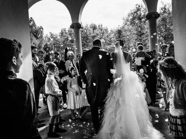 La boda de Joaquin y Gloria en Torrelodones, Madrid 1