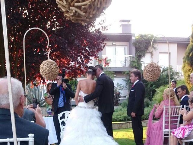 La boda de Dani y Dana en San Andres De Montejos, León 3
