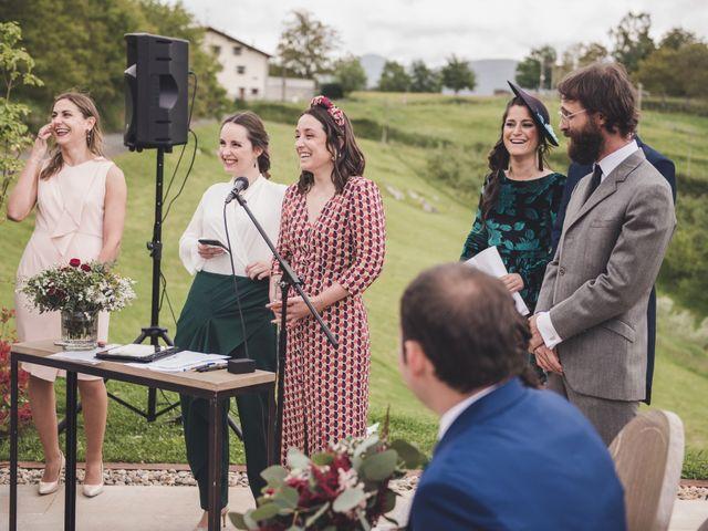 La boda de Ignacio y Esther en Pueblo Zizurkil, Guipúzcoa 36