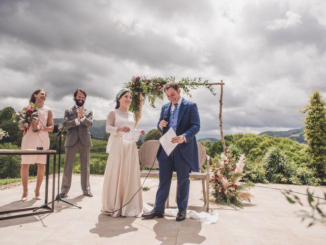 La boda de Ignacio y Esther en Pueblo Zizurkil, Guipúzcoa 44