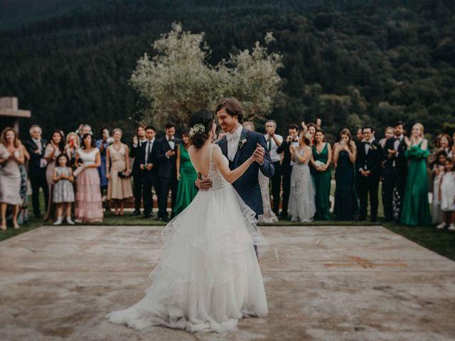 La boda de Ricardo y Ana Maria en Gordexola, Vizcaya 92