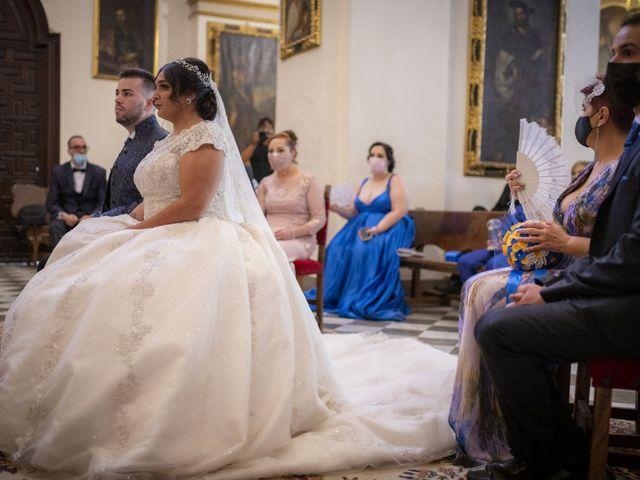 La boda de Ricardo y Azahara en Granada, Granada 34