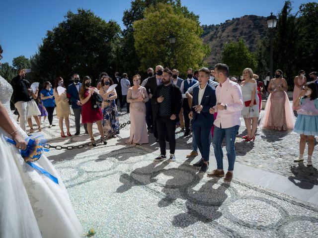 La boda de Ricardo y Azahara en Granada, Granada 69