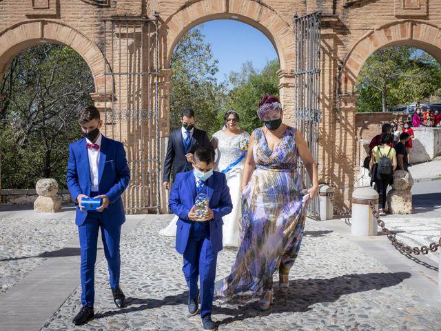 La boda de Ricardo y Azahara en Granada, Granada 71
